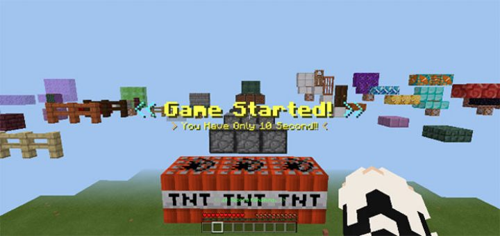 10 Saniyede Tamamla Parkuru – Minecraft 1.5