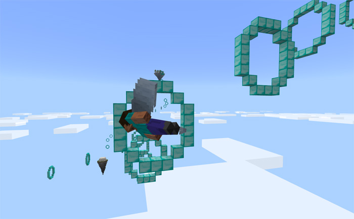 Minecraft Elytra Map