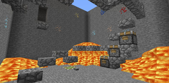 Don't Jump Minigame Haritası