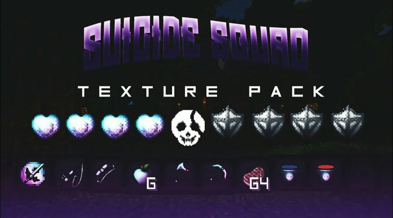 Suicide Squad PvP Texture Pack – MCPE 1.1.1
