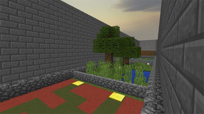 Minecraft UnfairPE Bulmaca Haritası