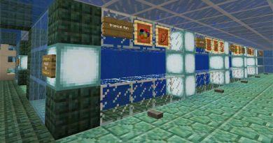 Minecraft PE Aquatic Güncellemesi İnceleme Haritası