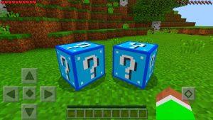 Blue Lucky Blocks Addon - Minecraft 1.2