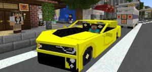 Minecraft PE Camaro ZL1 Addon