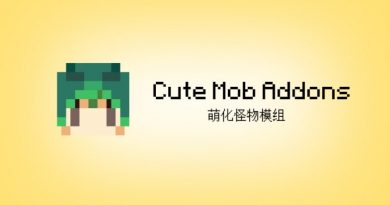 Cute Mob Addon – Minecraft 1.12