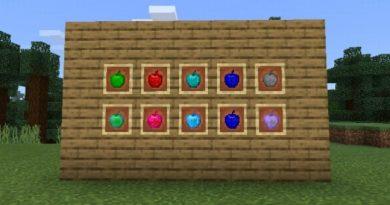 Daha Fazla Elma Eklentisi – Minecraft 1.12