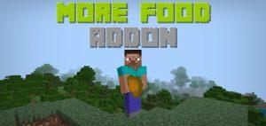 More Food Addon - Yemek Eklentisi | Minecraft 1.12