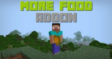 More Food Addon – Yemek Eklentisi | Minecraft 1.12