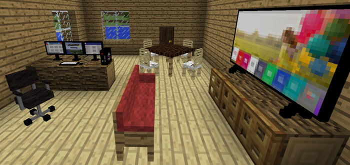 MCPE Decoration Addon