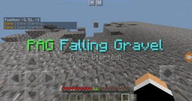 Disappearing Gravel Minigame Haritası