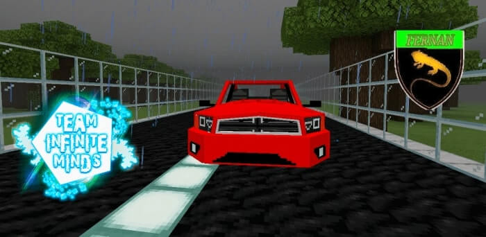 Dodge Charger 2012 Addon – Minecraft 1.13