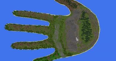 Hand Island Haritası (El Haritası)