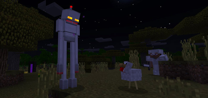 Enderman Robot Addon