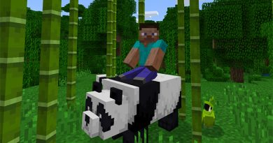 Evcil Pandalar Eklentisi – Minecraft 1.8
