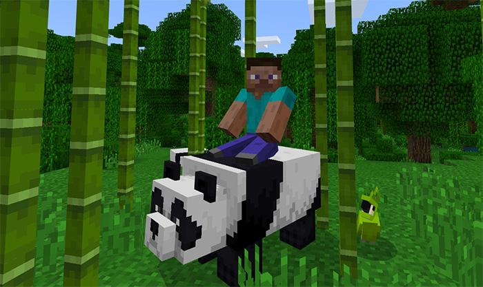 evcil pandalar eklentisi