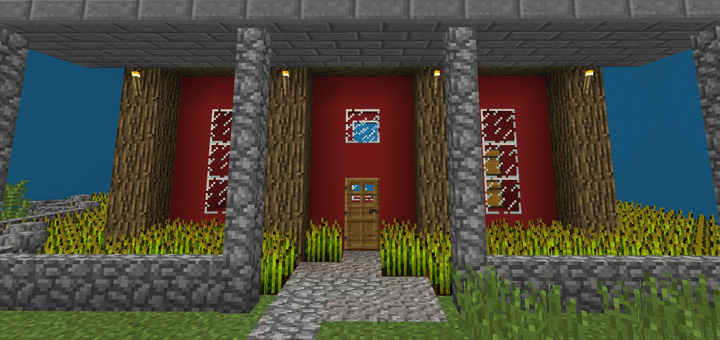 Find The Button: Houses Edition – Minecraft 1.6