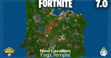 Fortnite Haritası v7 [Battle Royale Minigame Map]