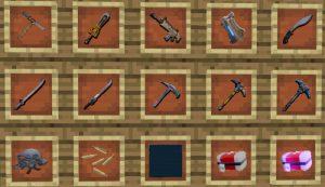 Minecraft PE Fortnite Addon