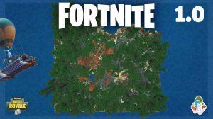 mcpe fortnite haritası