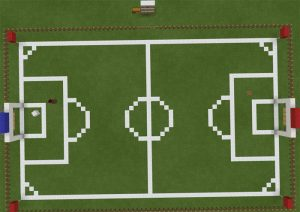 Minecraft Futbol Haritası