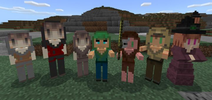 Female Addon MCPE
