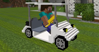 Golf Buggy Addon – Minecraft 1.6