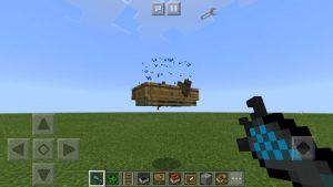mcpe gravity gun mod