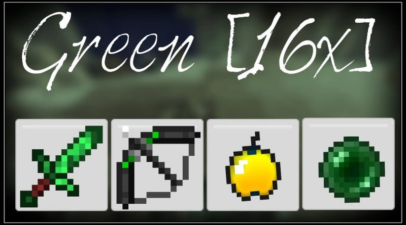 Green [16x] PvP Texture Pack