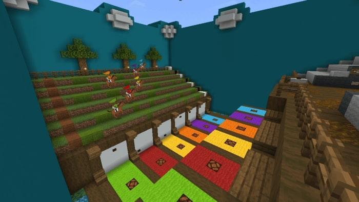 mcpe minigame haritası