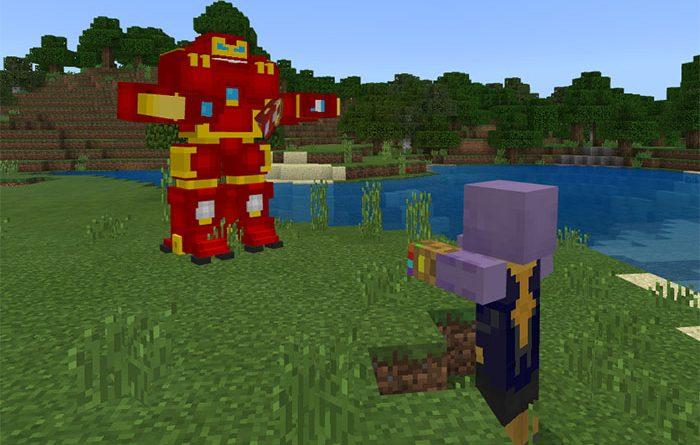 Avengers Infinity War Addon – Minecraft 1.5