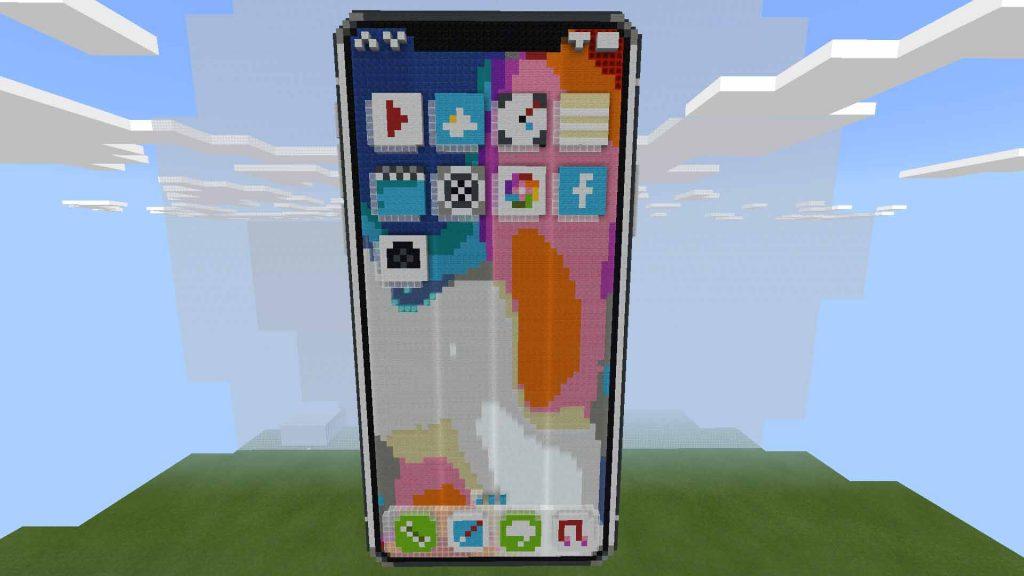 MCPE iPhone X Haritası