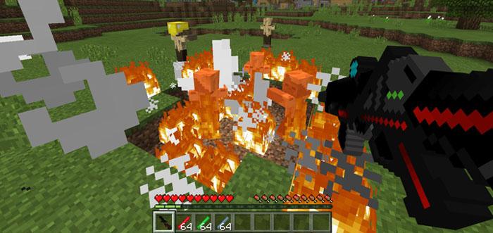 Laser Gun Addon – Minecraft 1.2