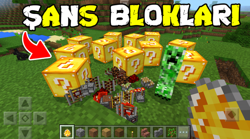 Lucky Block Addon – Minecraft 1.12