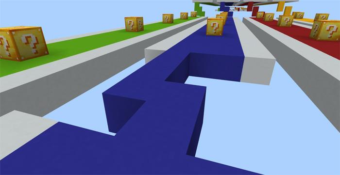 Mİnecraft Şans Blokları Haritası