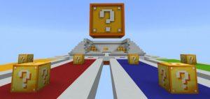 MCPE Lucky Blocks Race Map
