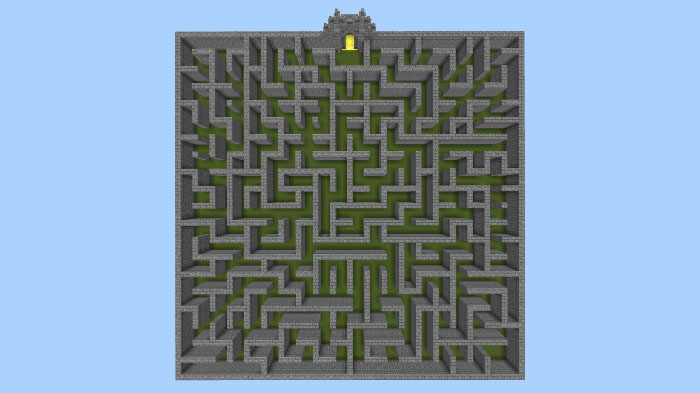 SG Magic Maze Minigame Haritası