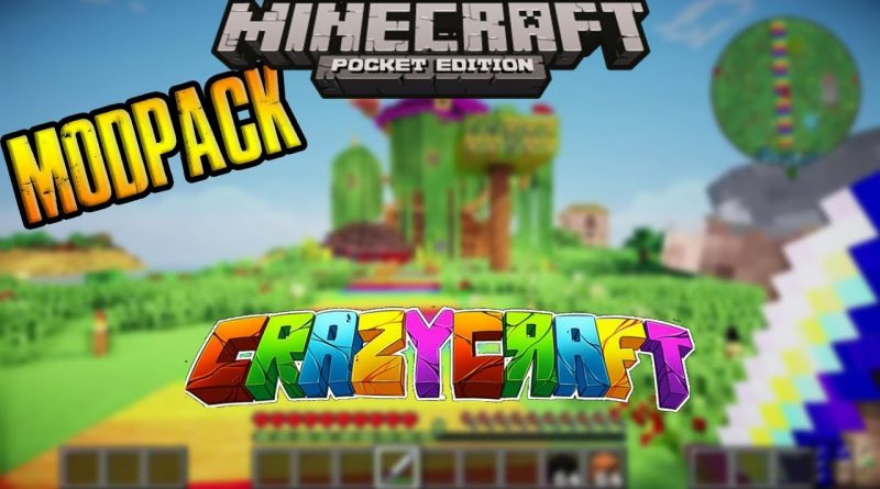 mcpe crazy craft mod indir