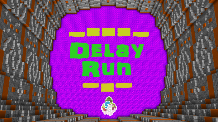 SG Delay Run Minigame Haritası