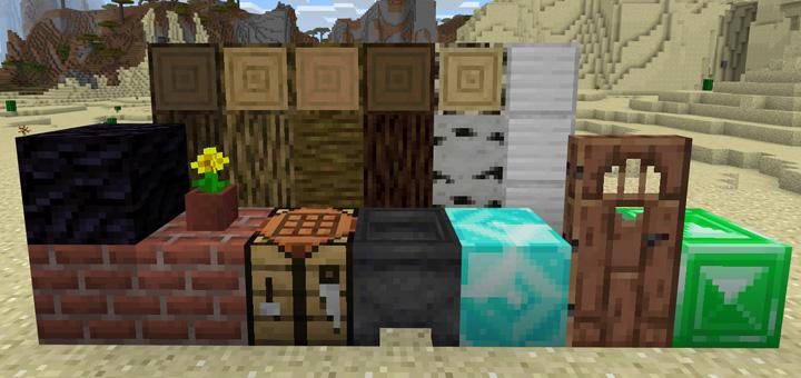 Minecraft 1.13 Textures Pack (Concept)