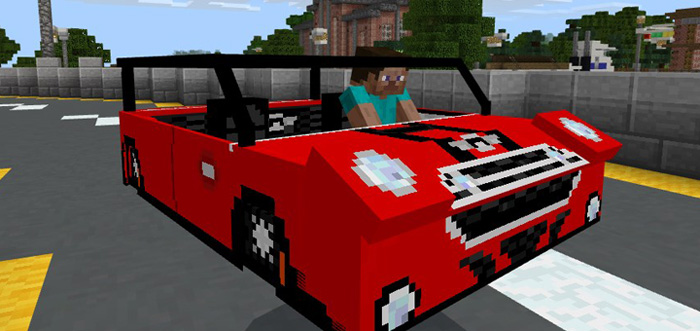 MCPE Mini Cooper Car Addon