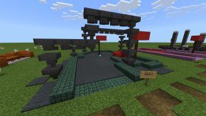 mcpe minigolf map