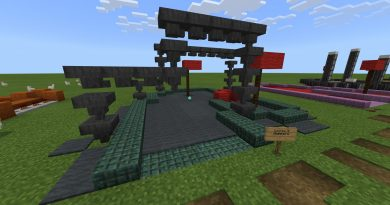 Minigolf: Redstone Edition Minigame Haritası