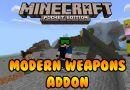 Modern Weapons Addon – Minecraft 1.2 (MCPE)