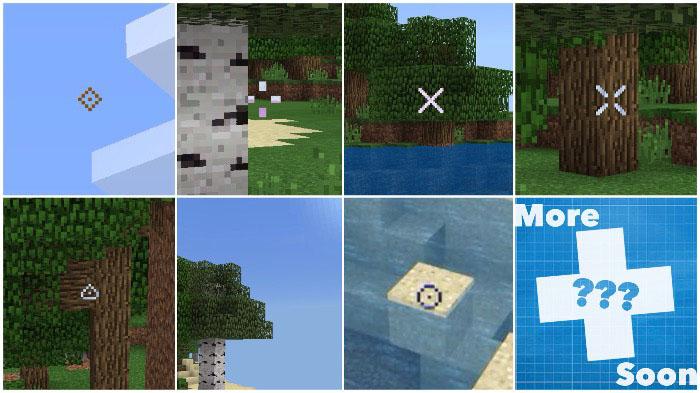 Özel Crosshair Paketi – Minecraft 1.6