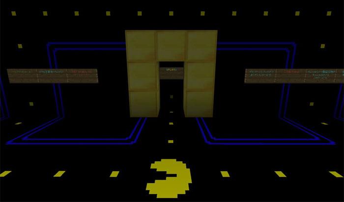 Pac-Man Minigame Haritası