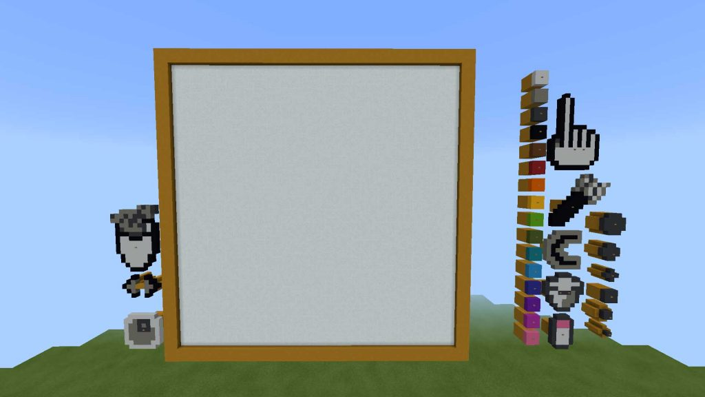 Painting in MCPE