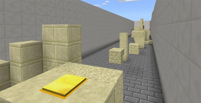 Minecraft ParkourMadness Parkur Haritası