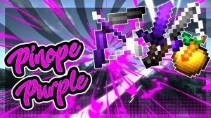 Minecraft Pinope Purple PvP Texture Pack