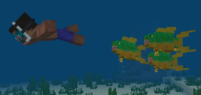 Pirana Eklentisi – Minecraft 1.6