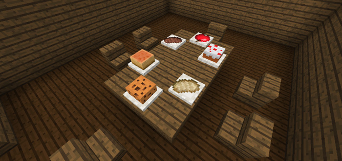 Placeable Food Addon - Minecraft 1.2